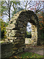 SK9760 : Coleby Hall Arch : Week 45