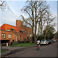 TL4358 : Cycling past Robinson College by John Sutton