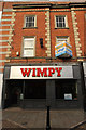 Recently closed Wimpy restaurant on Middle Gate in Newark