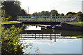 SU5666 : Oxlease Bridge (No.33) by N Chadwick