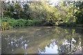 SU5666 : Winding Hole, Kennet & Avon Canal by N Chadwick