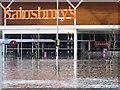 NY3956 : Sainsbury's is closed today : Week 49