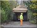 SU4886 : Dump Truck on the Bridleway by Bill Nicholls
