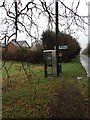 TL2850 : East Hatley Phone Box by Dave Thompson
