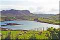 NC1444 : Morning view over Scourie Bay from Scourie More, 1994 by Ben Brooksbank