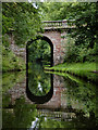 SJ8807 : Avenue Bridge south-east of Brewood, Staffordshire by Roger  Kidd