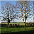 TL6149 : A view from West Wickham churchyard by John Sutton