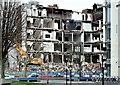 J3374 : The Orpheus Building (demolition), Belfast - December 2015(7) by Albert Bridge