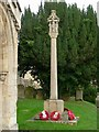 SK9804 : Ketton War Memorial by Alan Murray-Rust