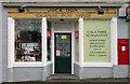 NT4836 : Gala Park Post Office, Galashiels by Walter Baxter