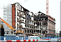J3374 : The Orpheus Building (demolition), Belfast - January 2016(1) by Albert Bridge