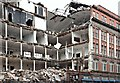 J3374 : The Orpheus Building (demolition), Belfast - January 2016(2) by Albert Bridge
