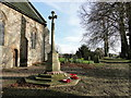 TG1712 : Costessey War Memorial : Week 2