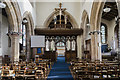 SK7958 : Interior, St Wilfred's church, North Muskham by Julian P Guffogg