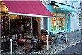 ST5773 : Shops on Waterloo Street, Clifton by Derek Harper