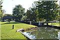 SU4366 : Benham Lock by N Chadwick