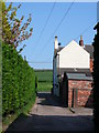 SK9341 : Holmes Row, Barkston by Yvonne Parker