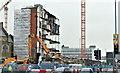 J3374 : The Orpheus Building (demolition), Belfast - January 2016(9) by Albert Bridge