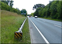 SJ6670 : The A533 near the Peckmill Roundabout by Mat Fascione