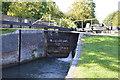 SU4767 : Newbury Lock, Kennet & Avon Canal by N Chadwick