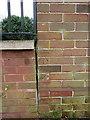 SJ6701 : OS benchmark - Broseley, Upper Croft by Richard Law