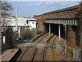 SJ3587 : Caryl Street Bridge from Brunswick Station footbridge by John S Turner