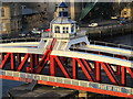 NZ2563 : The central section of the Swing Bridge : Week 5