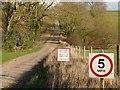 SK9411 : Extreme Danger! Beware of pedestrians by Alan Murray-Rust