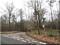 TQ1243 : Sheephouse Lane at the junction of Leith Hill Lane by David Howard