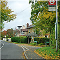 TQ4361 : Houses on Rookery Road, Downe by Robin Webster