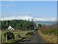 NH6358 : Road from Mount Eagle to Culbokie : Week 7
