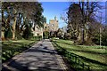 ST5572 : Clifton Lodge Entrance by Chris Heaton