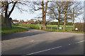 SU8671 : Home Farm entrance, West End by Alan Hunt