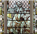 TG1602 : Carthusian stained glass by Evelyn Simak