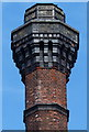 SK4836 : Close up of the former Springfield Mill chimney by Mat Fascione