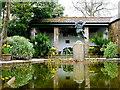 SW9946 : Ornamental Pond by Nigel Mykura