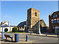 TL1439 : Church and war memorial, Shefford by Robin Webster
