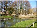 TL1439 : Waterway junction, Shefford by Robin Webster