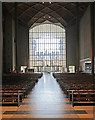 SP3379 : West window, Coventry Cathedral by Julian Osley