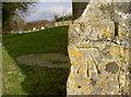 ST7069 : St Martin's benchmark by Neil Owen