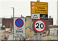 J3374 : 20 mph sign, York Street, Belfast (March 2016) by Albert Bridge