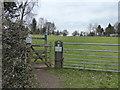 SJ4467 : Guilden Sutton Footpath 3, Byatts Path by Eirian Evans