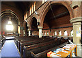 TQ4887 : St Chad, Chadwell Heath - South arcade by John Salmon