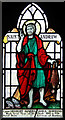 TQ4887 : St Chad, Chadwell Heath - Stained glass window by John Salmon