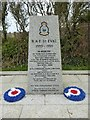 SW8769 : RAF St Eval war memorial by Philip Halling