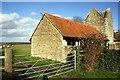 SU3899 : Barn conversion at Longworth Manor by Roger Templeman