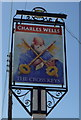 TL0634 : Sign for the Cross Keys, Pulloxhill by JThomas