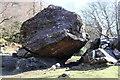 NY2516 : Bowder Stone vital statistics by Des Colhoun