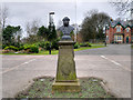 NZ2464 : Leazes Park (15) Bust of Sir Charles Hamond by David Dixon