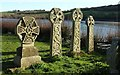SX1156 : Celtic crosses, St Winnow : Week 13